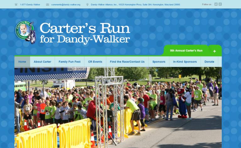 Carter's Run for Dandy Walker